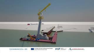 Komáromi új Duna híd megvalósítása Komárom - Révkomárom között