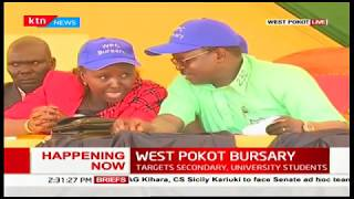 Governor Lonyangapuo awards Ksh.400 million bursary to over 40,000 students in West Pokot