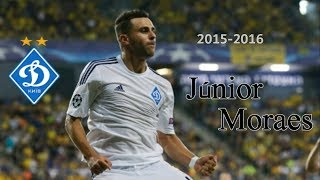 Júnior Moraes (CF) #11 • Dynamo Kyiv ● Goals, Shots, Passes ● 2015/2016