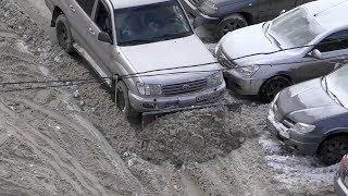 «Крузак» чистит снег
