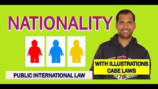 Nationality | Concept | Public International Law