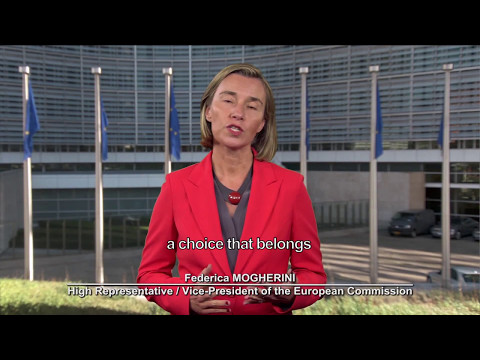 Federica Mogherini's message for Europe Day 2017