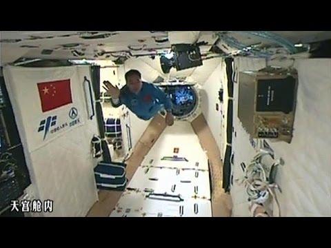Η Κίνα στο διάστημα: Με επιτυχία η πρόσδεση του επανδρωμένου Σένζου