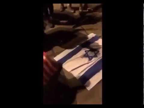 Bağdat'ta Siyonist ve ABD bayrağı yakıldı!