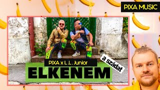 LL JUNIOR X PIXA - ELKENEM (OFFICIAL MUSIC VIDEO)