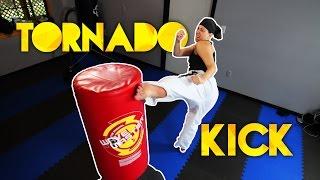 Tornado/360 Roundhouse Kick Tutorial