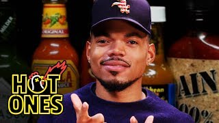 Chance the Rapper Battles Spicy Wings | Hot Ones