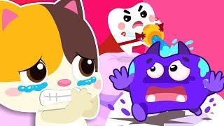 Perawatan Gigi Bayi Kucing   Mainkan Safe Song   Lagu Anak-Anak   BabyBus