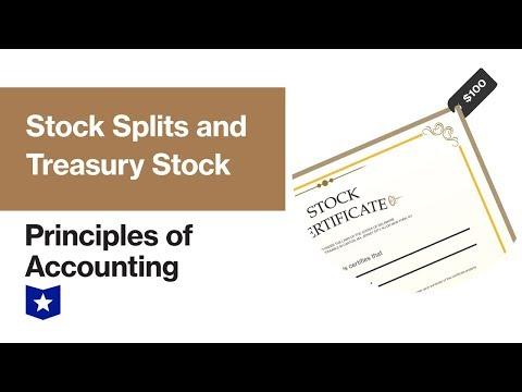 stock split journal entry