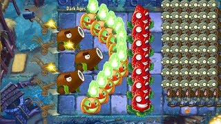 Plants vs Zombies 2 - Coconut Cannon and Strawburst