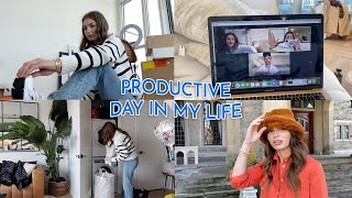 PRODUCTIVE DAY IN MY LIFE | vlog