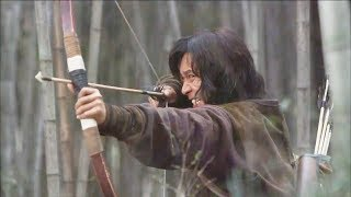 Chinese hunter hits the enemy's back with one arrow!Hunter soldier 51