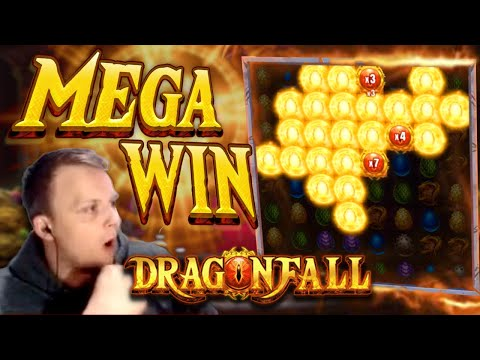 HUGE WIN on Dragonfall Bonus Buy!