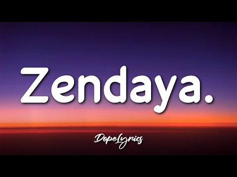 J.Dapper - Zendaya. (Lyrics) 🎵
