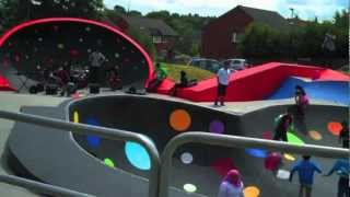 preview picture of video 'Launch of 'The POD' and Skate Park @ 1 Geranium Grove, Bordesley Green, B9 5HQ'