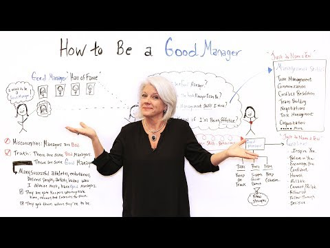 How to Be a Good Manager - Project Management Training - YouTube