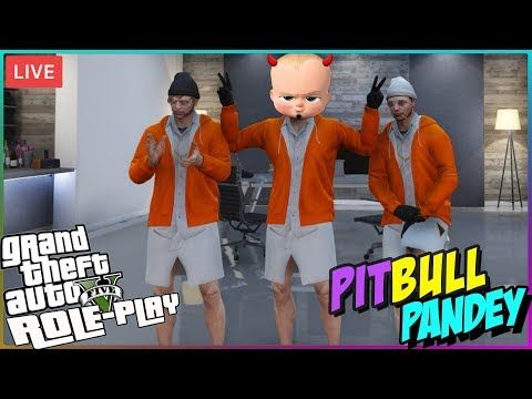 GTA V RP🔴 Pitbull Pandey joins BAJRAANG DAAL  •👮• GTA 5 Role Play !laptop