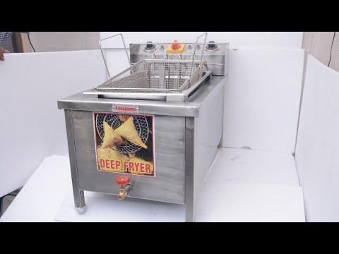 20 Ltr Commercial Deep Fat Fryer 2 In 1