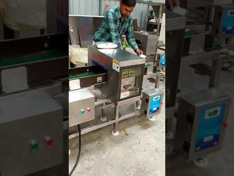 AL-SL Metal Detector Conveyor