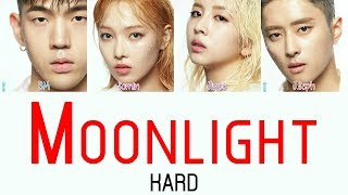 KARD - Moonlight [Hang, Rom & Eng Lyrics]