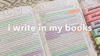 I Write In My Books | How I Annotate & Highlight