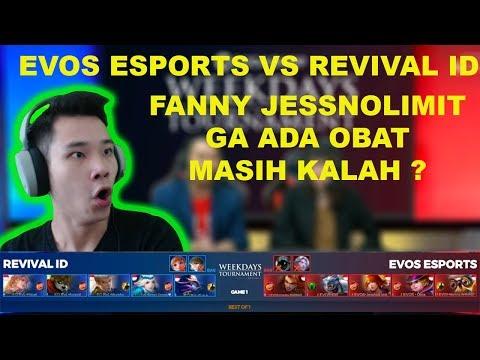 Codashop Weekdays Tournament by RevivaL TV Day 2 Match 3 EVOS ESPORTS vs REVIVAL ID