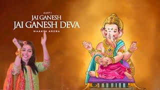 Maanya Arora | Ganesh Aarti | Ganesh Chaturthi   - YouTube