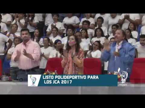LISTO POLIDEPORTIVO PARA LOS JCA 2017
