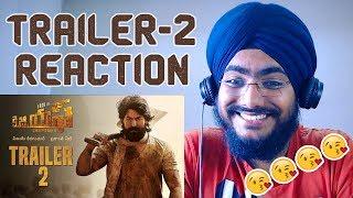 KGF Trailer 2 REACTION   YASH   Prashanth Neel