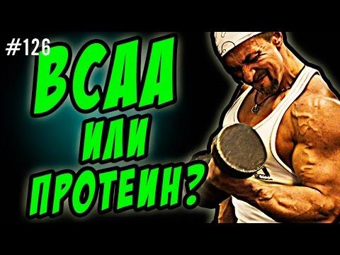 BCAA или протеин | три аминокислоты BCAA или сывороточный изолят что лучше при похудении