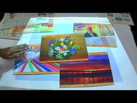 This Projector Lets You Tweak The Colours Of Printed Materials
