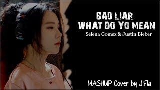 Lyrics: Selena Gomez & Justin Bieber - Bad Liar & What Do You Mean (J.Fla Mashup Cover)
