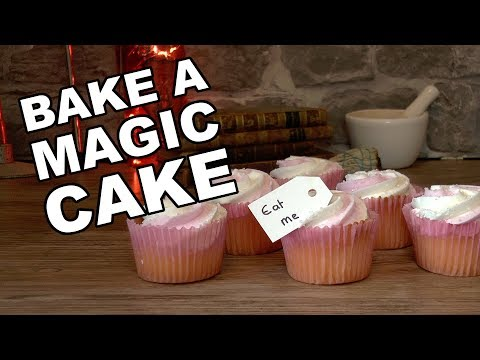 How To Bake A Magical 'Eat Me Cake' To Make You Grow In Size