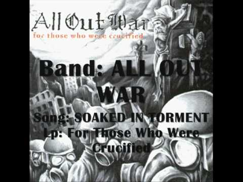ALL OUT WAR - Soaked In Torment