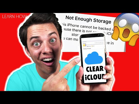 iCloud Storage – How to Free Up Space