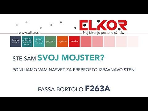 IZRAVNALNA MASA ZA STENE F263A