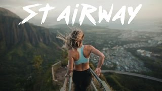 ILLEGAL STAIRWAY TO HEAVEN HIKE - AVOIDING COPS (2017)