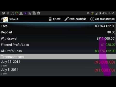 Video of Poker Income ™ Tracker