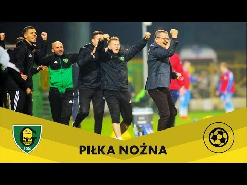 Skrót meczu GKS Katowice - Stomil Olsztyn