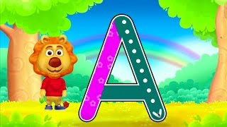 ABC Kids - Learn To Write Capital Letters - How To Write A To Z Alphabet In English
