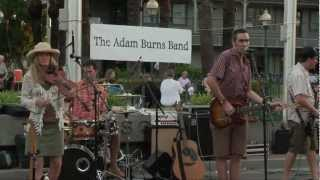 The Adam Burns Band - Painted Face - Market on Main in Merced California 8.9.12