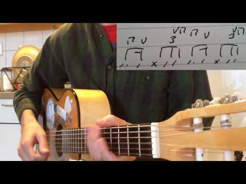 Under the Water (Aurora) – Guitar lesson