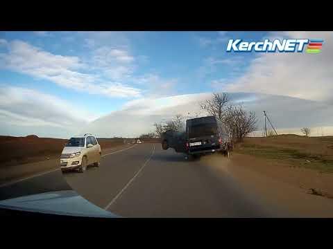 Жёсткое лобовое в Крыму