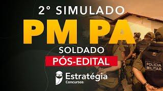 2º Simulado PM PA - Soldado Pós-Edital - Correção