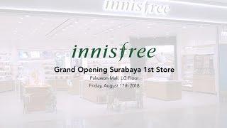 Innisfree Membuka Gerai Pertamanya di Surabaya