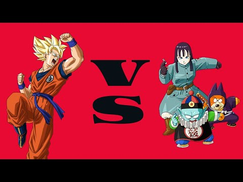 Hyper Dragon Ball Z - SSJ Goku VS Pilaf gang