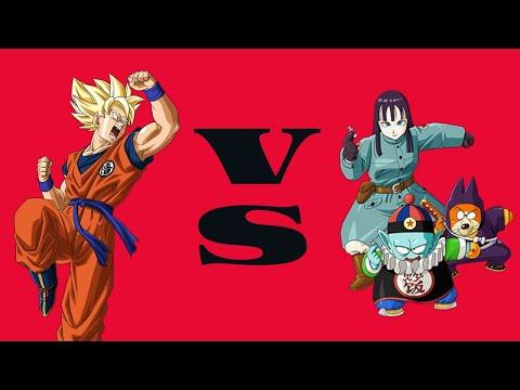 Hyper Dragon Ball Z - SSJ Goku VS Pilaf gang