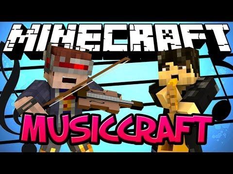 Minecraft Mod Showcase : Musiccraft Mod