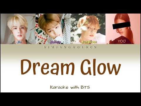 BTS (방탄소년단), Charli XCX (YOU) - DREAM GLOW    (Karaoke with backing vocals)