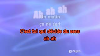Karaoké Encore un matin - Génération Goldman *